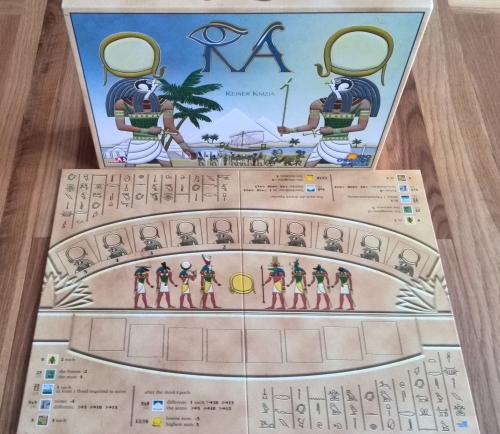 how to play ra board game